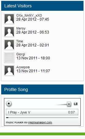 Songs In Profile