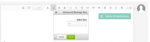 Advanced Message Editor Boxes